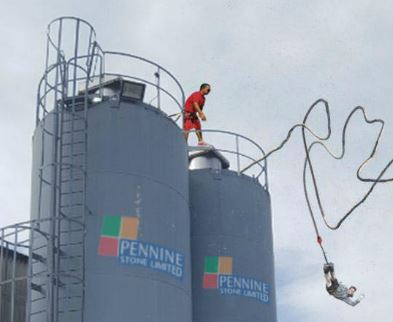 Bungee jumps banned at Pennine Stone